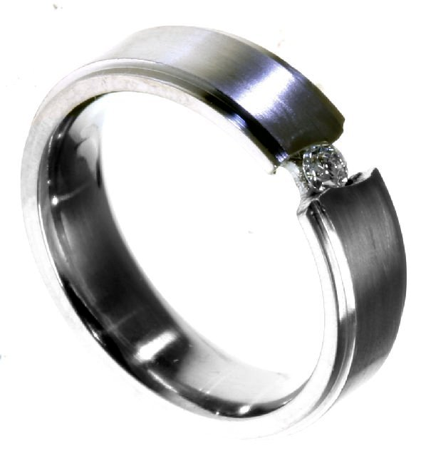 Item # 196289TI - Titanium Wedding Band View-4