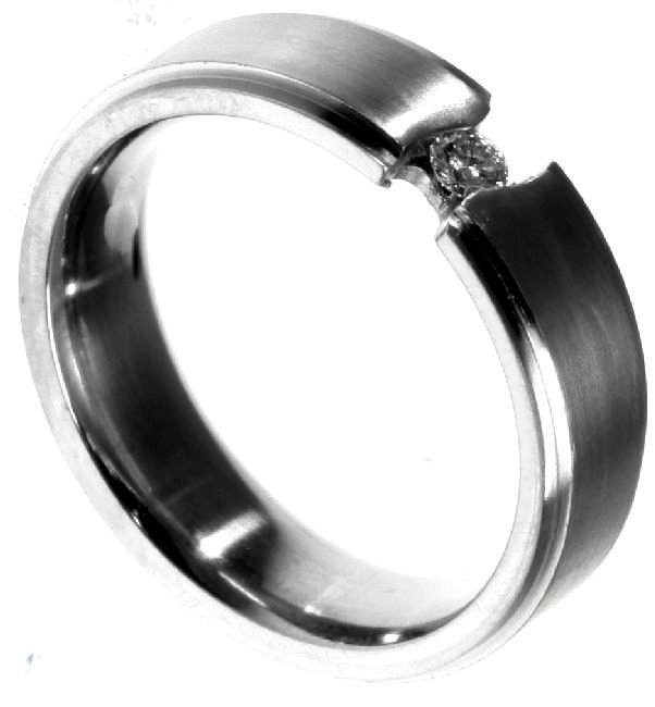 Item # 196289TI - Titanium Wedding Band View-5