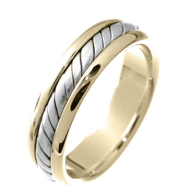 Item # 210465PE - Commitment, Handcrafted Wedding Band View-1