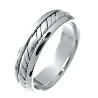 Item # 210465PP - Commitment, Handcrafted Wedding Band