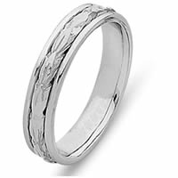 Item # 210505W - Timeless, Handcrafted Wedding Band