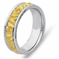 Item # 21303PE - Wedding Band -The Mountain