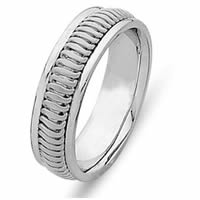 Item # 214776WE - Celebration, Hand Made Wedding Band