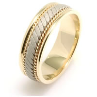 Item # 22470PE - Hand Made Wedding Band