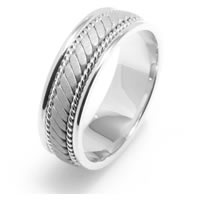 Item # 22470WE - Hand Made Wedding Band