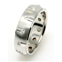 Item # 234829PP - Platinum Diamond Wedding Band