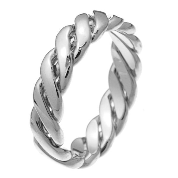 24991pp Two Intertwined Wedding Ring