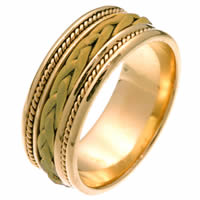 Item # 250181 - Hand Braided Wedding Ring