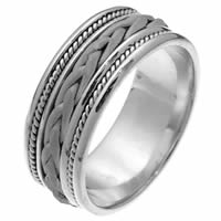 Item # 250181WE - Hand Braided Wedding Ring