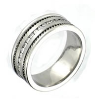 Item # 300107PP - Platinum, Diamond Wedding Band