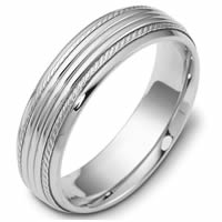 Item # 46833W - 14kt White Gold Classic Wedding Ring