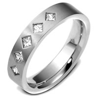 Item # 47341WE - 18K Diamond Wedding Band