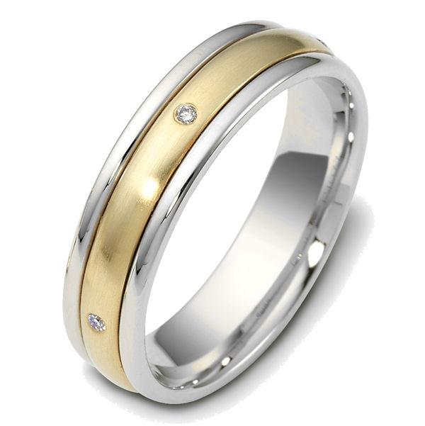 47655e 18k diamond spinning wedding band With spinning wedding rings