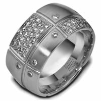 Item # 47777TI - Titanium Diamond Wedding Band