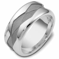 Item # 47887WE - Gold Wedding Band Two Rivers