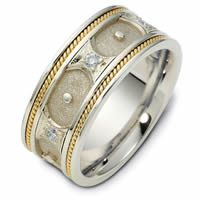 Item # 47905E - Gold Diamond Wedding Band