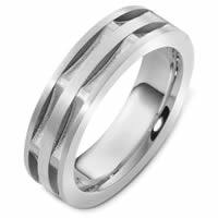 Item # 47997NWE - Contemporary Wedding Ring