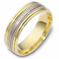 Item # 48038 - Two-Tone Classic Wedding Ring