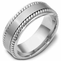 Item # 48039NW - White Gold Classic Wedding Ring