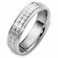 Item # 48049PP - Platinum Contemporary Wedding Ring