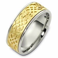 Item # 48052PE - Celtic Wedding Ring