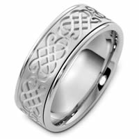 Item # 48052W - Celtic Wedding Ring