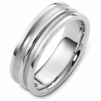 Item # 48254NW - White Gold Classic Wedding Ring