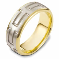 Item # 48444PE - Carved Wedding Ring