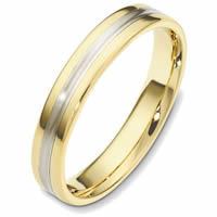 Item # 48543 - Two-Tone Classic Wedding Ring