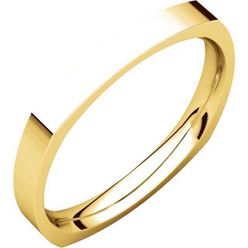 48839 square classic wedding ring