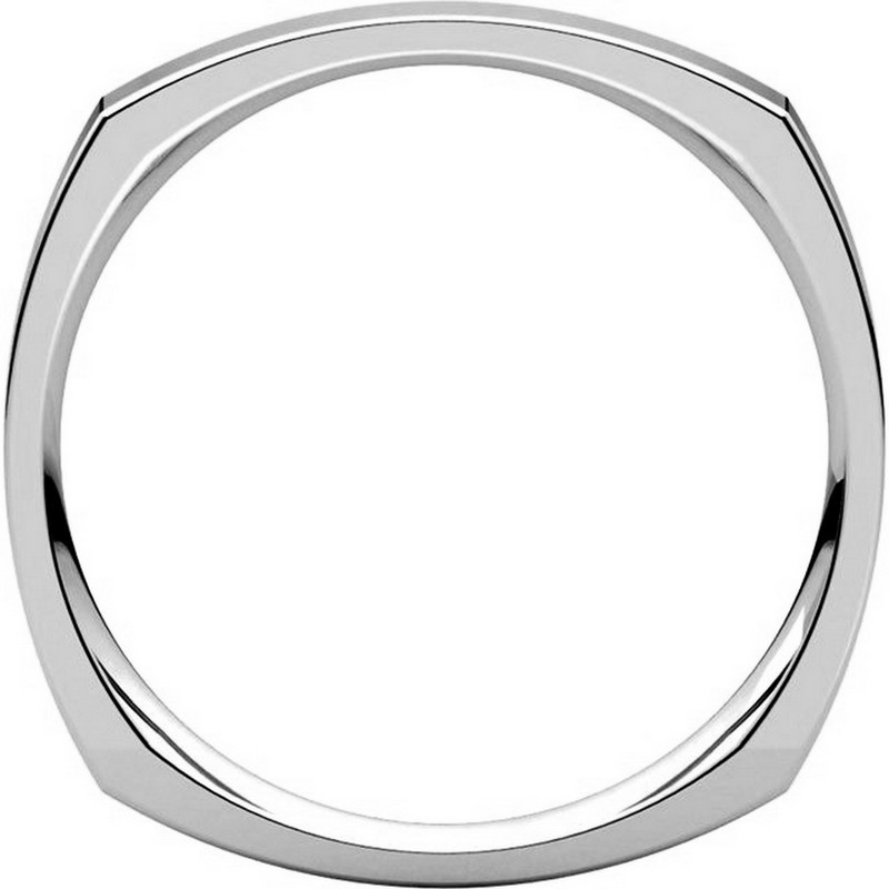 Item # 48839W View 2 - Square Classic Wedding Ring