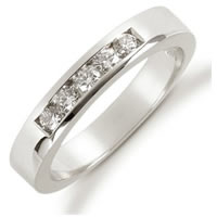 Item # 521235PD - Palladium Diamond Anniversary Band