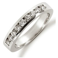 Item # 521239PD - Palladium Diamond Anniversary Band
