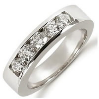 Item # 521266PP - Platinum Diamond Anniversary Band