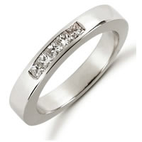 Item # 521395PD - Palladium Diamond Anniversary Band