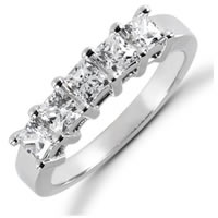 Item # 522285W - 14K White Gold Diamond Anniversary Band