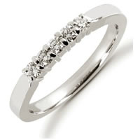 Item # 52434PD - Palladium Diamond Anniversary Band