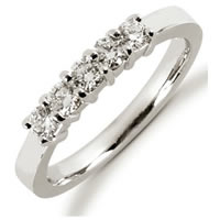 Item # 52443PD - Palladium Diamond Anniversary Band