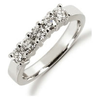 Item # 52449W - 14K White Gold Diamond Anniversary Band