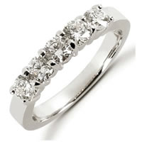 Item # 52453PD - Palladium Diamond Anniversary Band