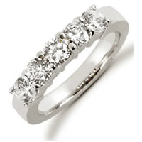 Item # 52459PD - Palladium Diamond Anniversary Band