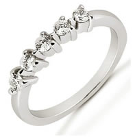 Item # 525061PD - Palladium Diamond Anniversary Band