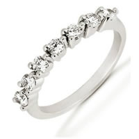 Item # 525064PD - Palladium Diamond Anniversary Band