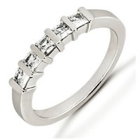 Item # 52663PD - Palladium Diamond Anniversary Band