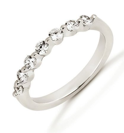 Item # 52925PP - Platinum Diamond Anniversary Band View-1