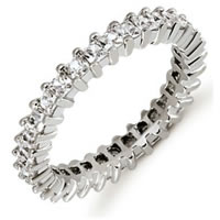 Item # 53229WE - 18Kt White Gold Diamond Eternity Band