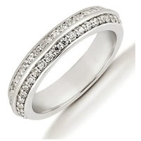 Item # 53448WE - 18Kt White Gold Diamond Eternity Band