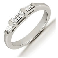 Item # 541009W - 14Kt White Gold Diamond Anniversary Band