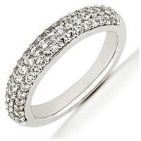 Item # 5411119PD - Palladium Diamond Anniversary Band