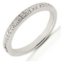 Item # 5416029PD - Palladium Diamond Anniversary Band